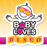 Baby Loves Disco - Logo